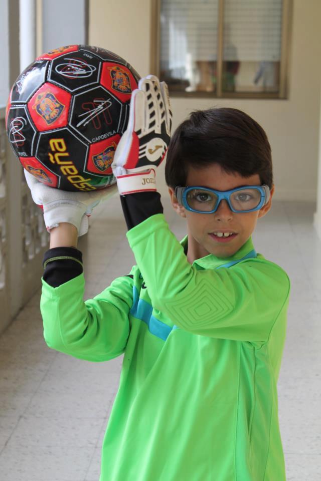 Okulary sportowe korekcyjne